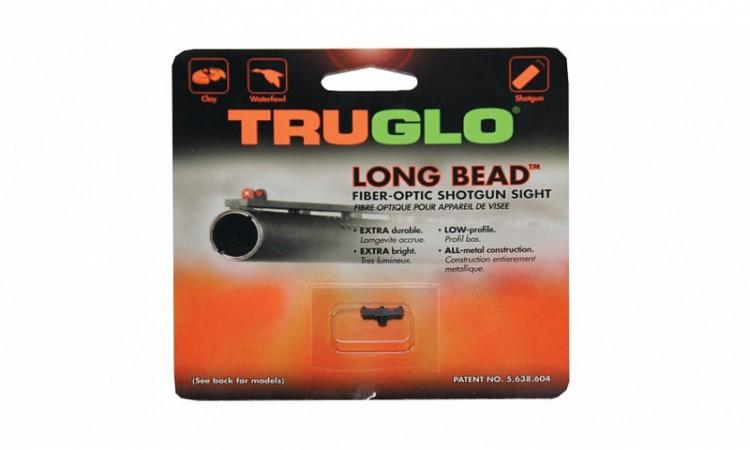 мушка Truglo TG947CRM 2,6 мм красная, металлическая, ввинчивающаяся. (уп./12шт.)