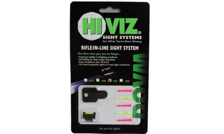 """HiViz мушка поперечная для карабинов с планкой 9,5 мм (3/8"""") высота .315"""""""