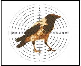 Мишень для пневматики Ворона (140х140)
