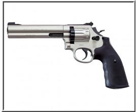 Револьвер пневматический Smith&Wesson 586-6 (Nickel)
