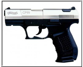 Пистолет пневматический Walther CP-99 (nickel)