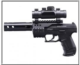 Пистолет пневматический Walther CP-99 NightHawk (Black)
