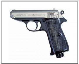 Пистолет пневматический Umarex Walther PPK/S (Nickel)
