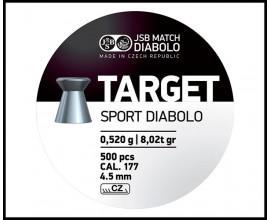 Пули для пневматики DIABOLO TARGET Sport
