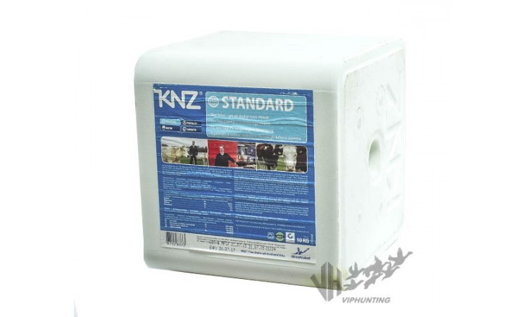 Соль Лизунец KNZ для прикормки животных 10 кг.