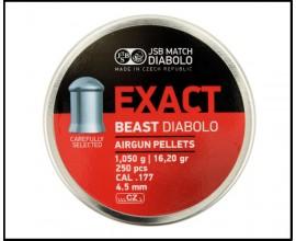 Пули JSB Exact Beast Diabolo 4,5 мм 250 шт