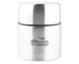 Термос пищевой с широким горлом 1литр TRC-079 серый