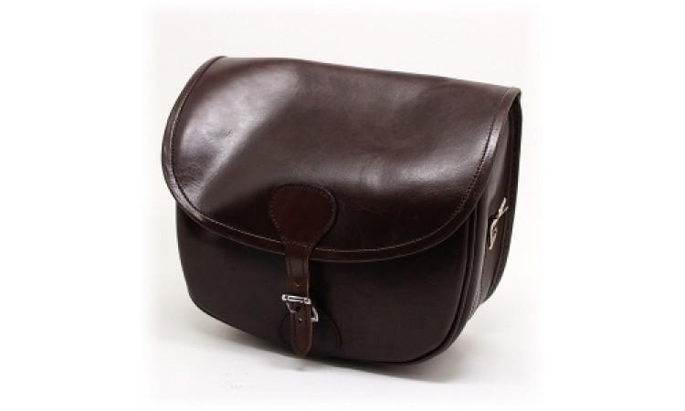 Охотничья кожаная сумка (ягдаш)