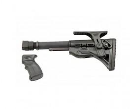 Комплект телескопический приклад и ручка для АК/САЙГА Рысь