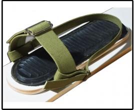 Крепление для лыж (носковый ремень-брезент)